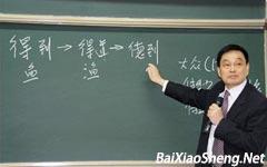 """百晓生:刘永行谈企业管理如何""""小题大做"""""""
